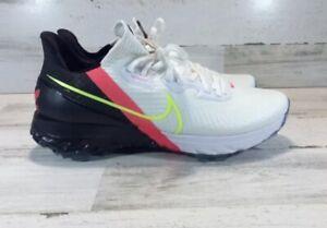 Nike Air Zoom Infinity Tour Golf NRG White Crimson Volt CT0540-103 Mens Size 9.5