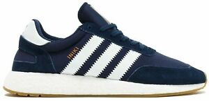adidas Originals I-5923 Iniki Runner B43525 Blue Running Shoes BOOST Sizes 9,9.5