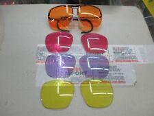 Occhiali Baschieri e Pellagri    tiro sportivo con 4 Lenti colorate