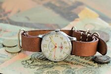 Poljot Wrist Watch STURMANSKIE Gagarin 1 MChZ + leather strap at style NATO /S