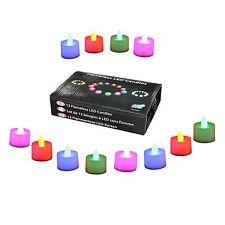 48 Diwali Diya Colour Changing Tea Light LED Candles by PK Green