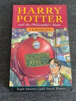 Harry Potter and the Philosopher's Stone (Book 1)-J.K.ROWLING-1997 PAPERBACK