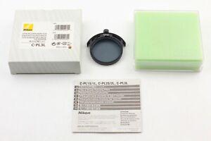 [ Exc+5 in Box ] Nikon C-PL3L Slip-in Circular polarizing Filter CPL From JAPAN
