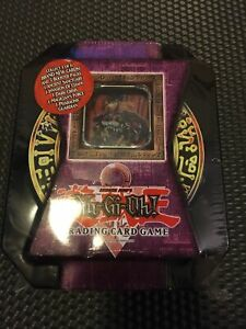 Yugioh Commander Knight Tin 2004 Factory Sealed