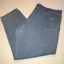 Mens Carhartt Denim Jeans sz 52 X 31