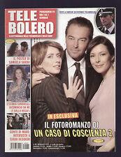 TELE BOLERO 52/2005 CHARLIZE THERON TOM HANKS LIVI SOMMA + POSTER SAMUELA SARDO