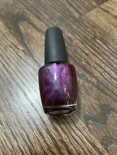 O.P.I. Nail Lacquer # Nl U01 Congeniality Is My Middle Name Burgundy Free S&H