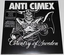 Anti Cimex - Absolut Country Of Sweden LP White Vinyl Gatefold New Re(2014) Punk