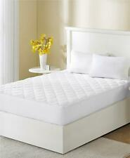 Sleep Philosophy WonderWool 300 TC Cotton Twin Mattress Pad White $100