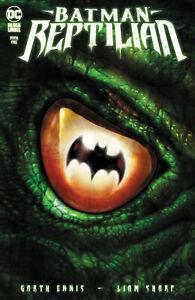 DC Comics Batman: Reptilian #1 Liam Sharp Cover Black Label (2021)