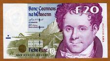 AU P70b Ireland Old 1 Pound Note 1980