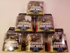 6-G.I. Joe Combat Heroes Baroness, Duke, Destro, Clayton,Scarlett & Snake Eyes