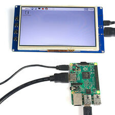 7 inch HDMI USB Capacitive Touch screen TFT LCD for Raspberry Pi B/B+/PI2 Newest