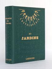 Encyclopédie des Jardins Larousse COUTANCEAU Pr. GUY-CHARRON Dessin COTHIER 1957