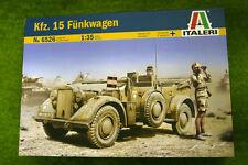 kfz. 15 funkwagen german ww2 vehicle 1/35 scale italeri kit 6526