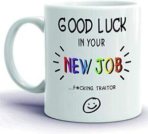 CiderPressMugs® Novelty Funny Coffee Mug Colleague Leaving Gift Present Good