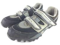 'Nashbar Dolomite 2' Mens US 7.5 /EU 41 Black Gray Bicycle Cycling Shoes, Cleats