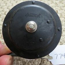 SportCraft fly fishing reel made in USA (has little play on handle) (lot#7749)