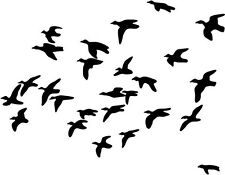 "DUCK HUNTING SPORTSMAN Vinyl Decal Sticker-6"" Wide White Color"