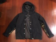 Bape Winter Jacket Men Size L Black/Camo