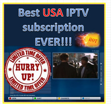 HOT SALE!!! | 1 Year BEST IPTV USA SUBSCRIPTION 2019!!! HURRY 8,000+ CHANNELS!!!