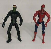 Marvel Legends SpiderMan Movie 3 Series Spiderman & Goblin Figures Lot # 2