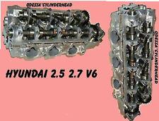 2 HYUNDAI KIA OPTIMA SONATA SANTA FE TUCSON 2.5 2.7 DOHC V6 CYLINDER HEADS REMAN