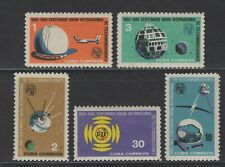 1Cuba 1965. ITU. Scott # 964-968. MNH, VF