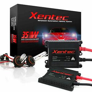 Xentec 9006 hb4 Xenon Light HID Conversion Kit SLIM 35W for Headlight 6000K 02
