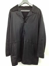 Button Leather Unbranded Regular Coats & Jackets for Men