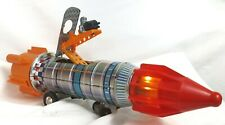 Vtg KY YOSHINO Space Frontier Battery Operated Toy Tin Rocket Apollo 15 WORKS!