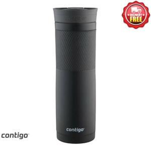 Contigo Byron Snapseal Thermo Insulated Travel Mug 709ml - Matte Black