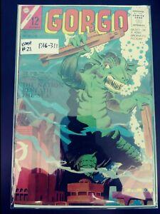 Gorgo #21 Low Grade Charlton Comic Book 1964 PA6-311