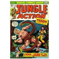 Jungle Action (1972 series) #3 in Very Fine condition. Marvel comics [*e9]
