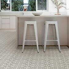 FloorPops FP2942 Medina Peel & Stick Floor tile, Grey, 10 Count Gray