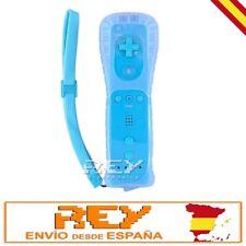 Mando Remote + Funda Silicona + Correa p/ Wii AZUL Entrega 48/72h n37