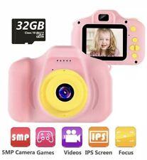"Kids Camera Digital Cameras Toy 1080P 2.0"" HD Toddler Video Rec"