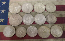 Lot of Silver coins from Mexico