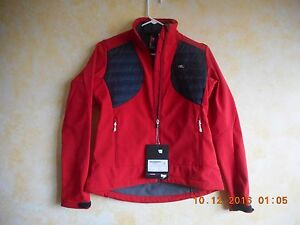 NSR Women's Armor Softshell Cycling Jacket RED, GREEN, BLUE, Size SM, MED, LRG