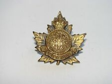 Canada WW1 CEF OFFICER'S Collar Badge The 245th Battalion second variant