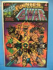 GWAR Signed Comic Book Slave Pit Funnies 4 Dec 1996 Oderus Urungus Dave Brockie