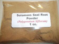 1 oz. Solomons Seal Root Powder (Polygonatum biflorum)