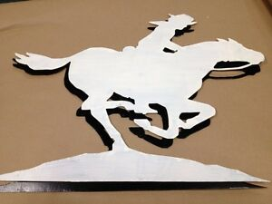Black Or White Cowboy Cowgirl Horse Rider Ground Land Scenic CLEARANCE Customize