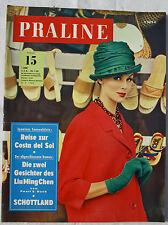 PRALINE 1962 Nr. 15: Reise zur Costa del Sol