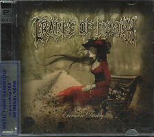 CD + DVD SET CRADLE OF FILTH EVERMORE DARKLY SEALED NEW