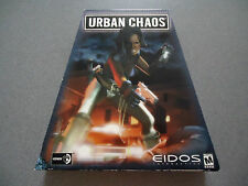 Urban Chaos  Original Trapezoid Box  NEW  NIB  WIN 95/98/NT/2000