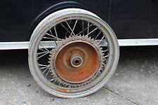 "Harley 16"" Wheel & Tire Chrome Used Custom Rat Rod In Good Shape (U-1910)"