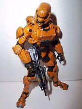 Halo 4 Series 1 **ORANGE SPARTAN SOLDIER** from Box Set 100% Complete w Gun RARE