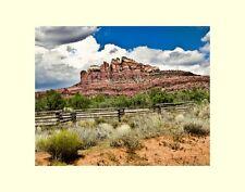 Sedona Arizona Cathedral rock Vortex matted picture interior wall decor photo