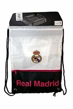 Backpack Real Madrid Soccer Book Bag Gym  * Authentic Official
